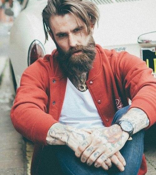 cool beard man