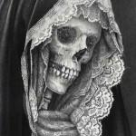 19th Century Women Skull