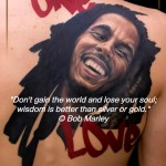 Bob Marley tattoo quotes