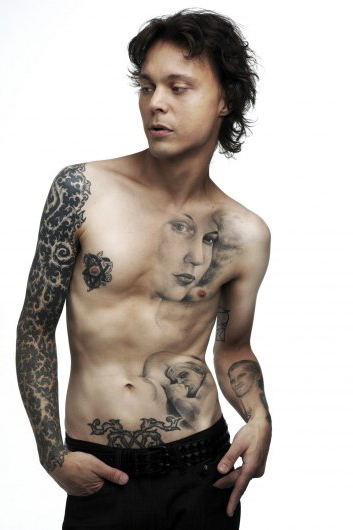 All Body Willy Valo tattoo