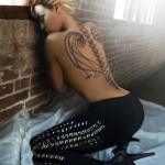 Back Beyonce tattoo