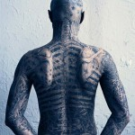 Back Zombie Boy tattoos