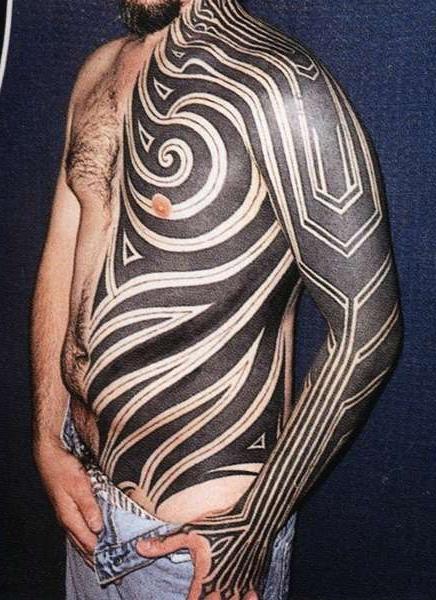 Tribal tattoos best tattoo ideas gallery part 5 for Tribal body tattoo