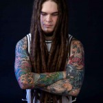 Both Hands Skulls and dreads