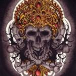 Buddah Demon Skull