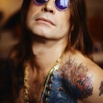 Coloured Imp Ozzy Osbourne tattoo