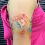 Dancing Girl tattoo