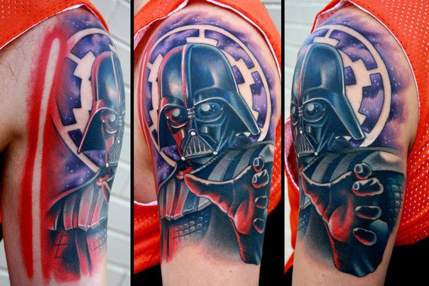 Darth Vader Illustration Star Wars Tattoo Best Tattoo Ideas Gallery