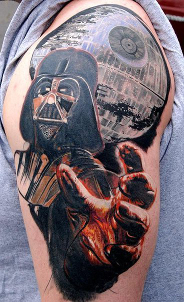 Darth Vader Star Wars tattoo