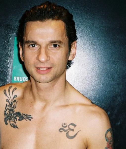 Dave Gahan tattoo