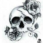 Dead Rose Skull