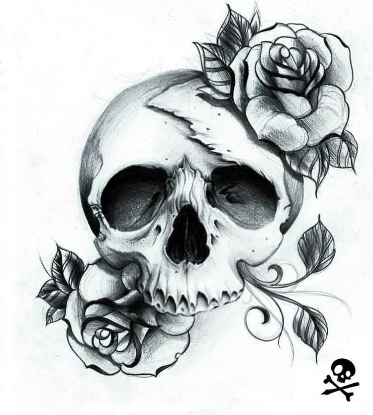 Dead Rose Scull