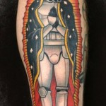 Empire Saint Trooper Star Wars tattoo