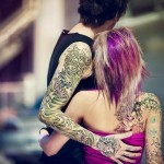 Fairy couple tattoo