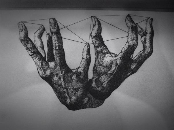 Finger Column Oneself dot work