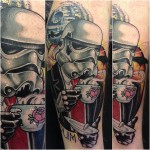Gentleman Trooper Star Wars tattoo