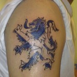 Glasgow Rangers tattoo