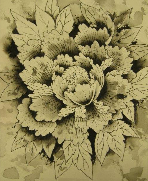 Graphic Lotus flower tattoo | Best Tattoo Ideas Gallery