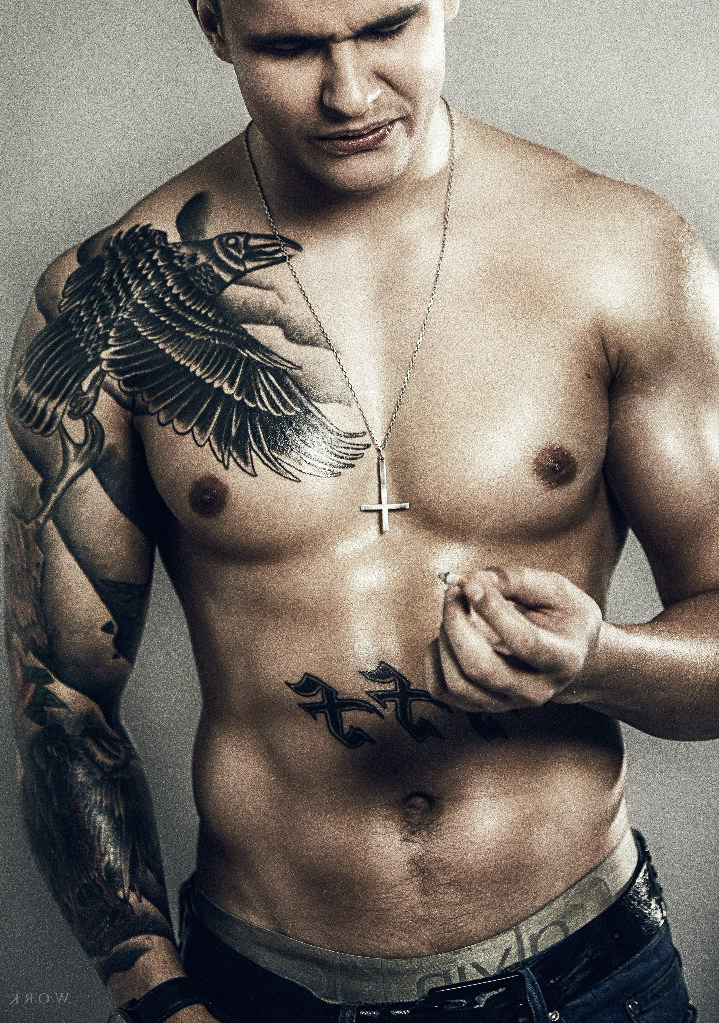 Graphic Raven On A Brunch Tattoo Best Tattoo Ideas Gallery