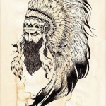 Indian Warchief tattoo