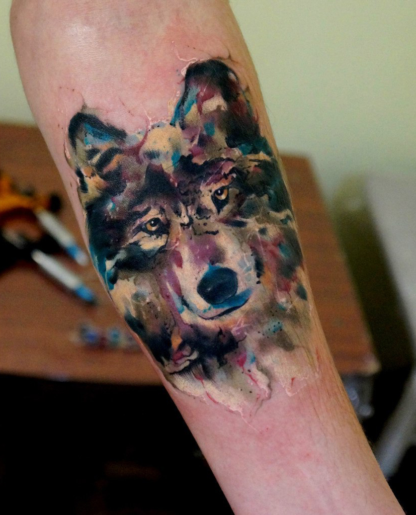 lone wolf tattoo best tattoo ideas gallery