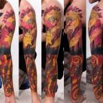My Autumn tattoo sleeve idea