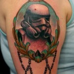 Old School Empire Trooper Star Wars tattoo