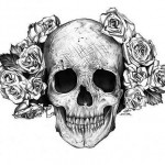 Pretty Lady Skull tattoo
