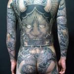 Pure Demon japanese yakuza tattoo idea