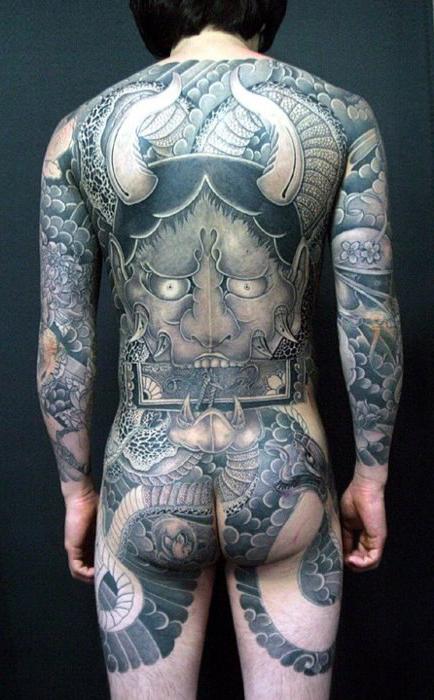 pure demon japanese yakuza tattoo idea best tattoo ideas gallery. Black Bedroom Furniture Sets. Home Design Ideas