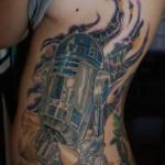 R2D2 Illustration Star Wars tattoo