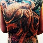 Reef Master Octopus tattoo