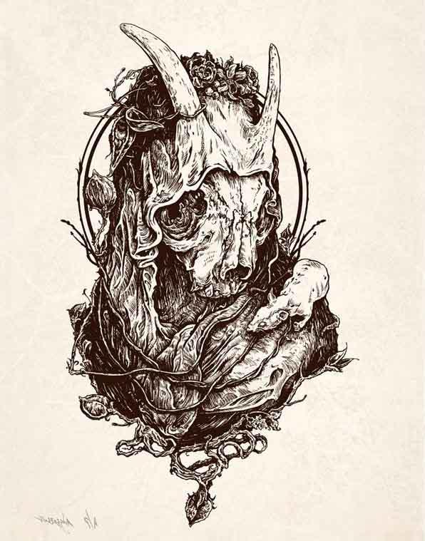 Scapegoat Skull