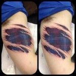 Scotland Under my Skin tattoo