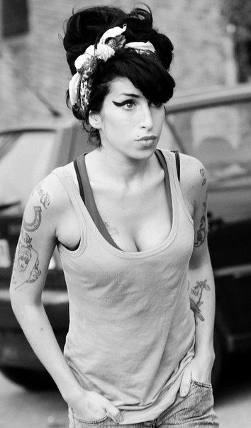Shoulders Amy Winehouse tattoos