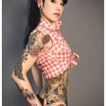 Suburbs Pin Up Girl tattoo design