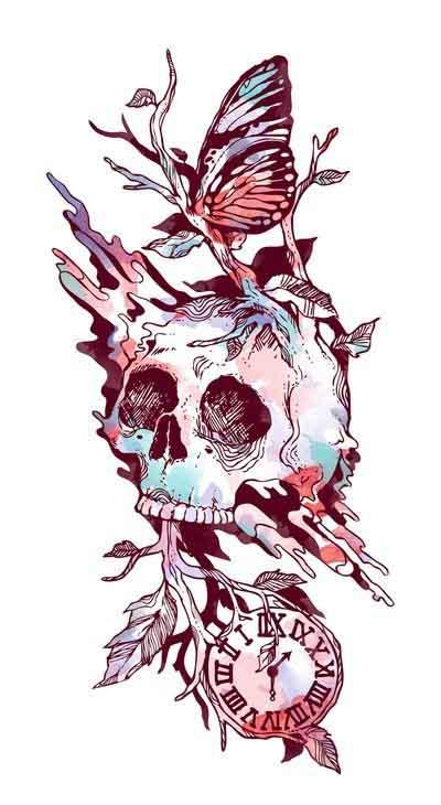 Time Flow Skull
