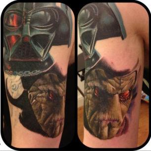 Trade Federation Star Wars tattoo