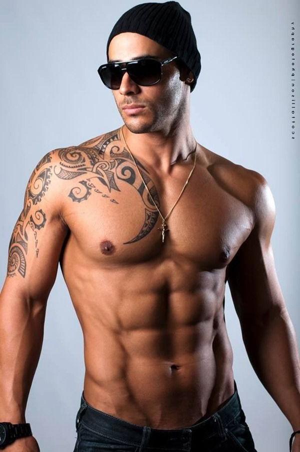 Tribal Shoulder free tattoo designs for men