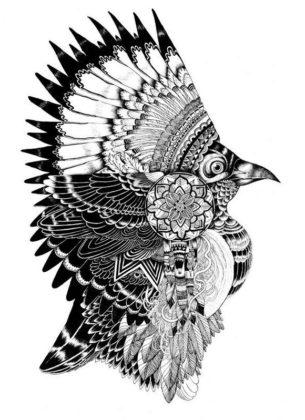 Tricky Sparrow tattoo