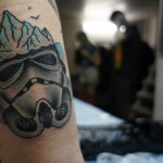 Trooper Iceberg Star Wars tattoo