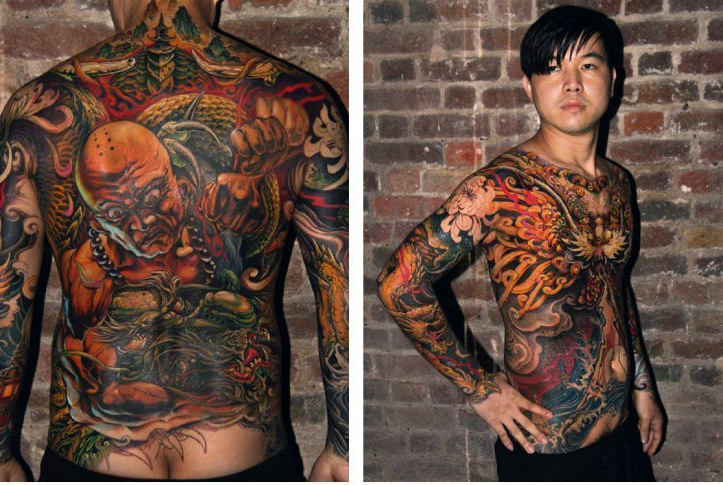 True Japanese Yakuza Tattoo