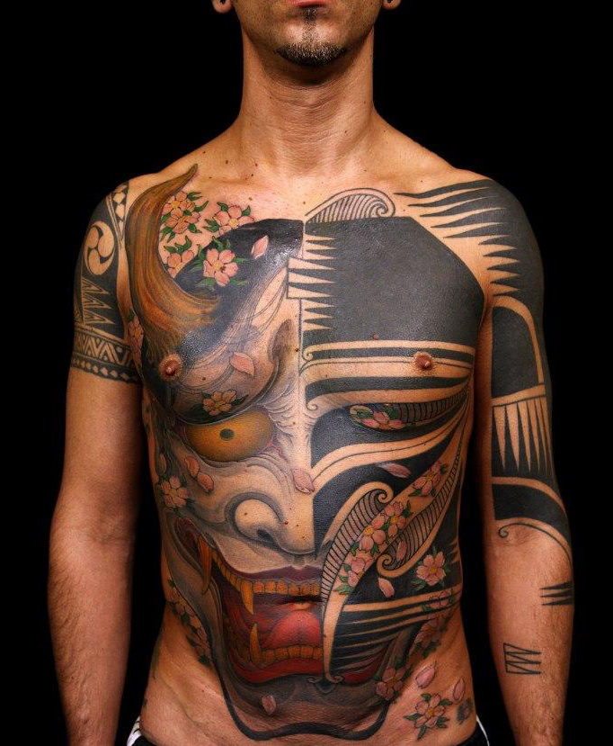 Tribal dubuddha org part 3 for Japanese tattoo art