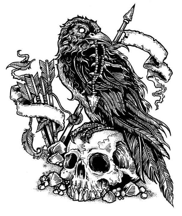 Valhalla Skull