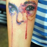 Vivd Woman Glance tattoo