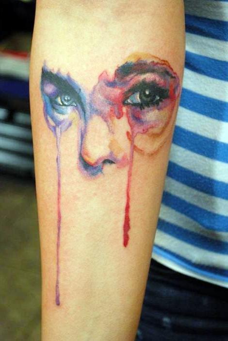 Vivd Woman Glance tattoo