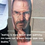 Steve Jobs tattoo