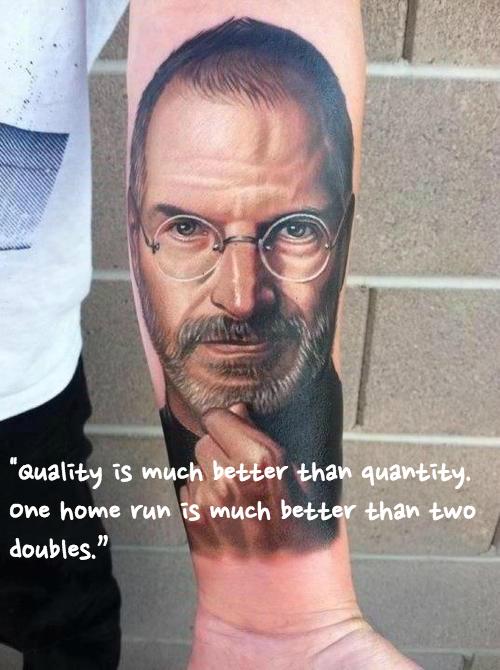 Steve Jobs tattoo