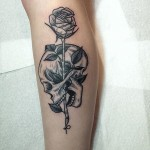 Classic – Skull and Rose