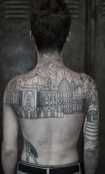 Arab Street Graphic tattoo idea